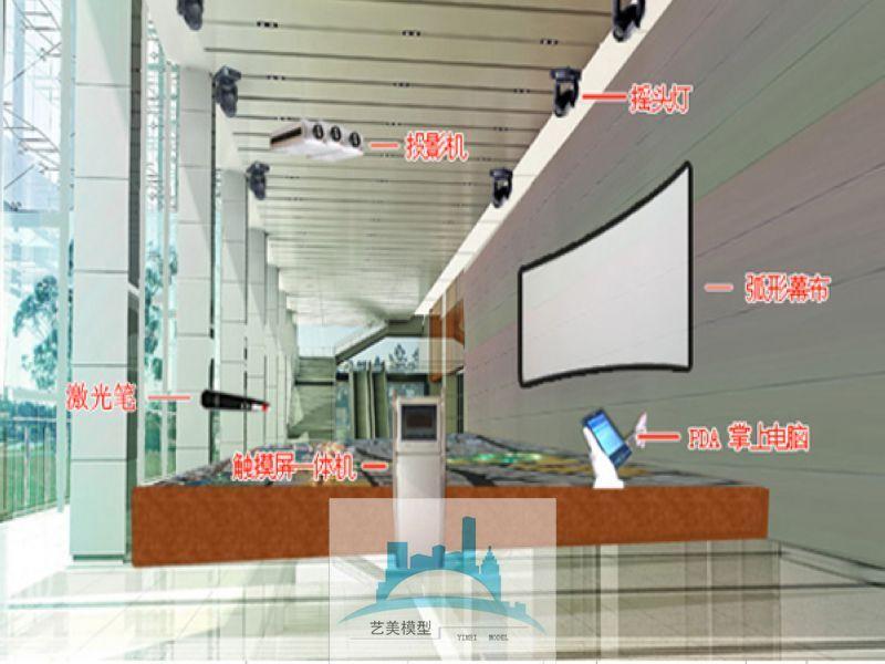 多媒体投影互动沙盘