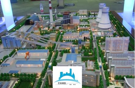 济宁电厂沙盘